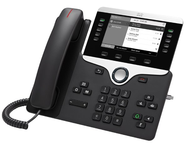 FONPROFI: CISCO IP-Phone 8811 (Multiplattform)