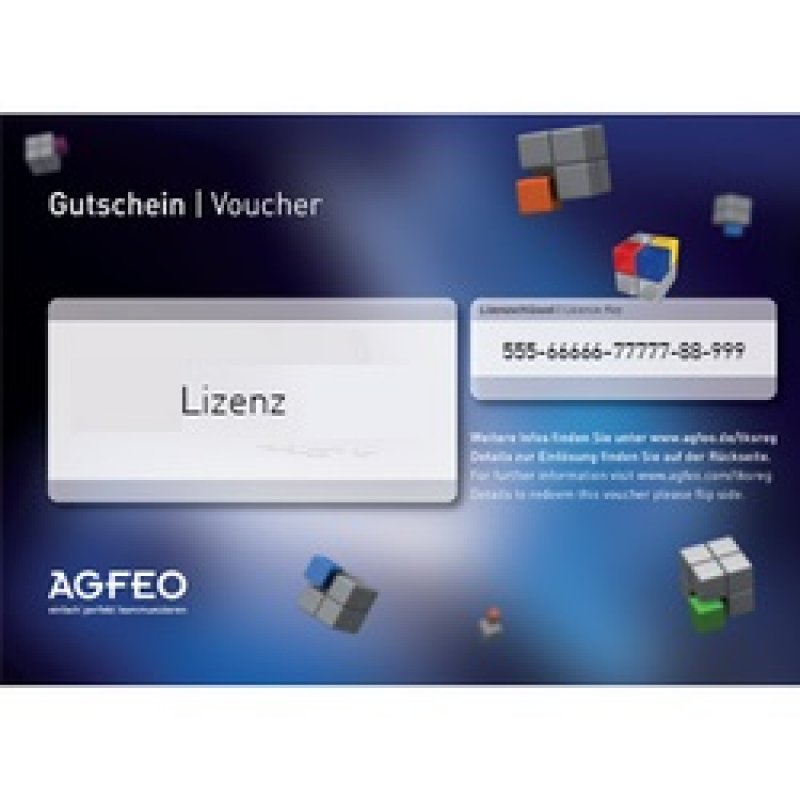 FONPROFI: AGFEO Software ES Klick Key (Voucher)